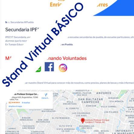 Stand Básico Preescolar, Primaria, Secundaria, Bachillerato/Prepa