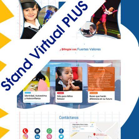 Stand Plus Preescolar, Primaria, Secundaria, Bachillerato/Preparatorias
