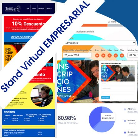 Stand Virtual Empresarial Preescolar, Primaria, Secundaria y Bachillerato