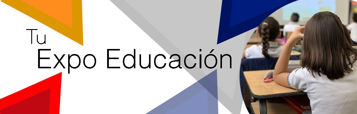 Banner Tuexpo educacion